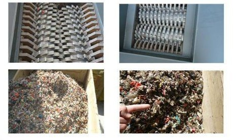 Shredded Hazardous Waste