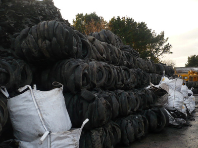 Baled Tires