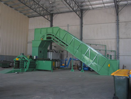 Automatic Horizontal Baler